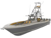 Motor boat clipart